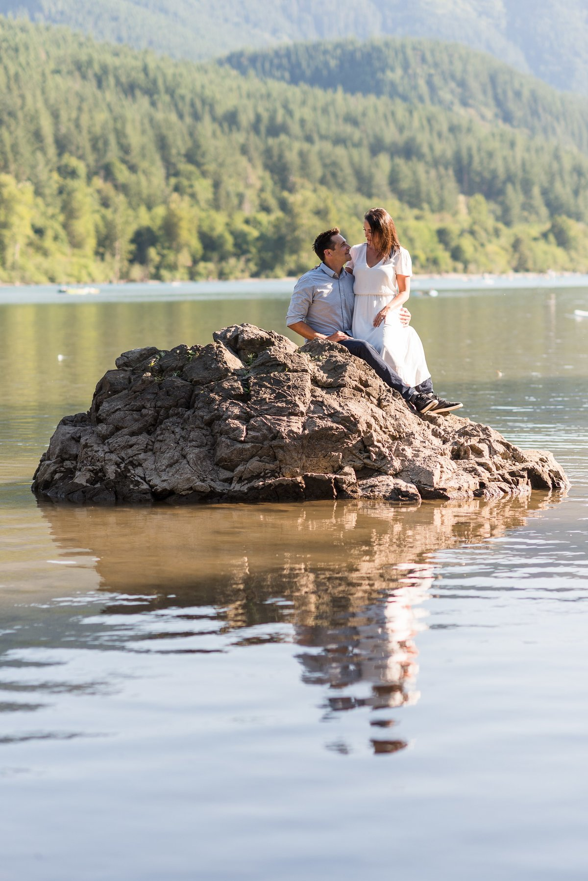 Rattlesnake Lake Engagement Session - 27
