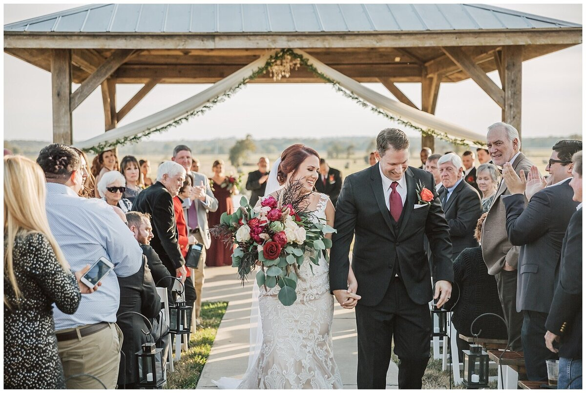 Rustic Burgundy and Blush Indoor Outdoor Wedding at Emery's Buffalo Creek - Houston Wedding Venue_0684
