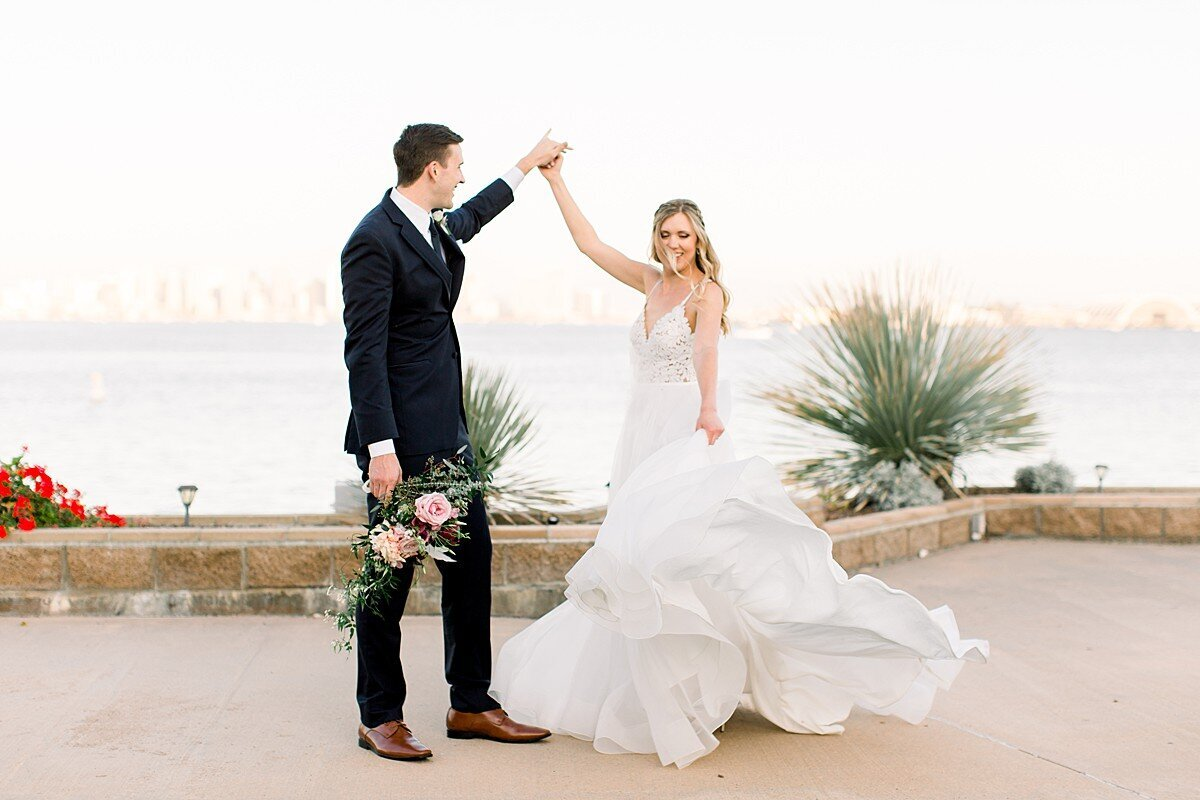 Romantic San Diego Wedding Photography at Admiral Kidd