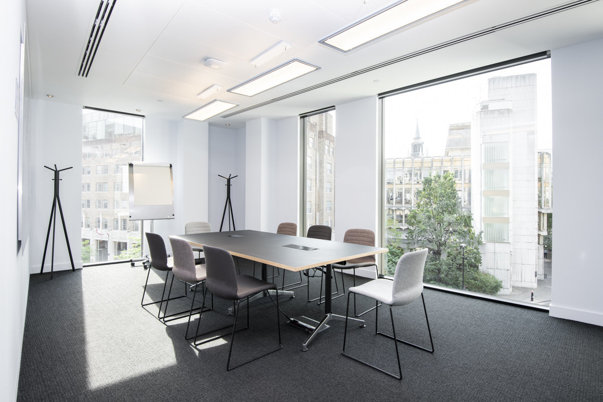 london modern office interior photographer