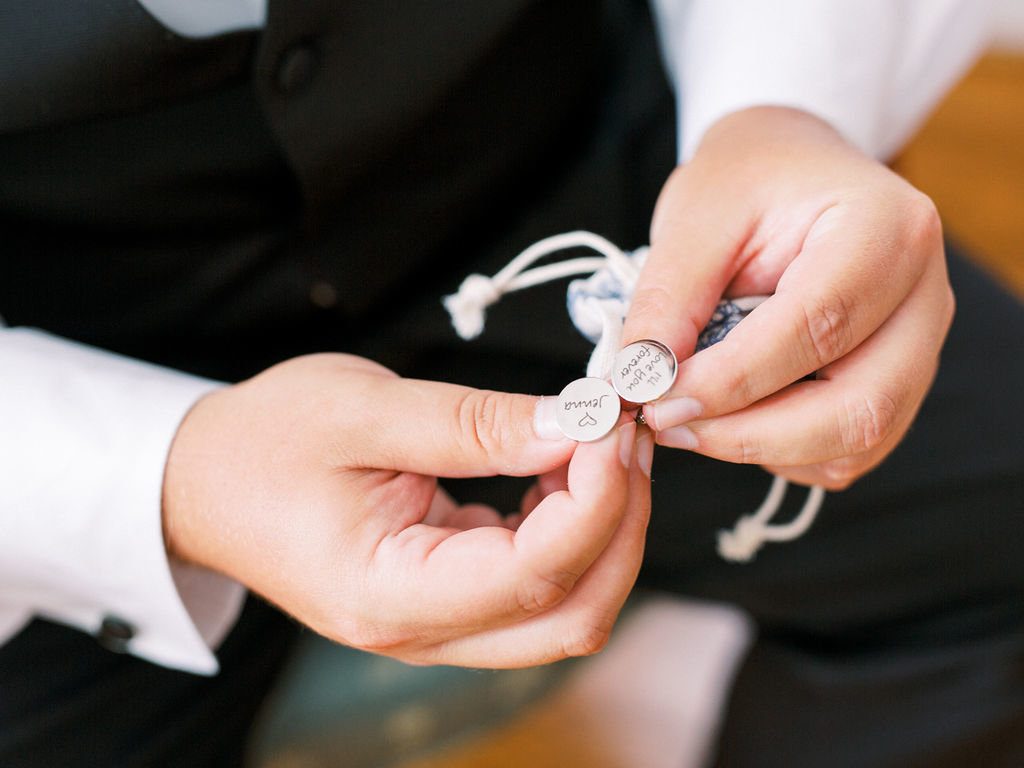 cufflinks Greenville Country Club Delaware Wedding florist