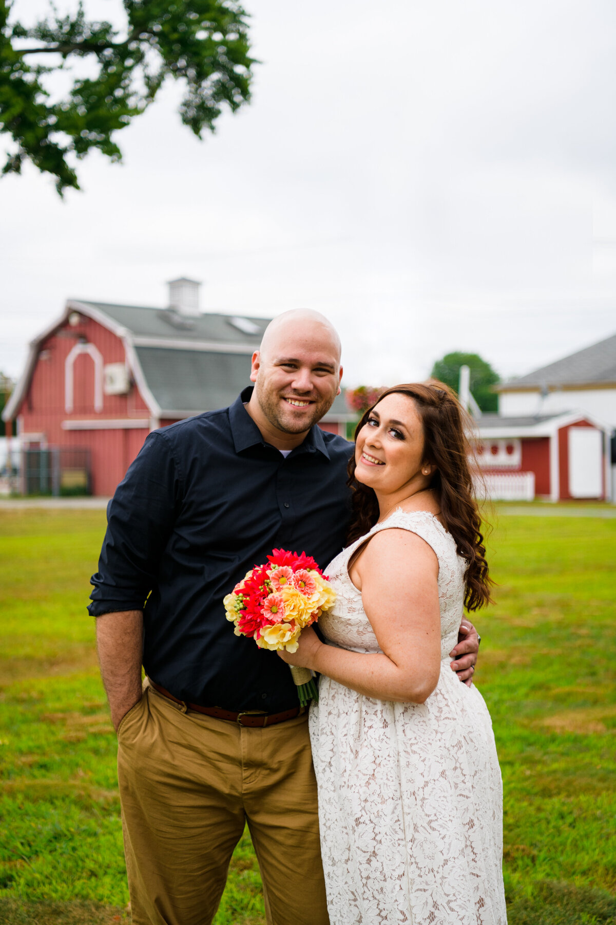 Topsfield fairgrounds wedding ceremony