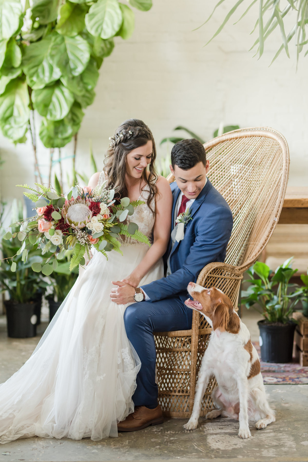 Tampa boho wedding at Fancy Free Nursery 21