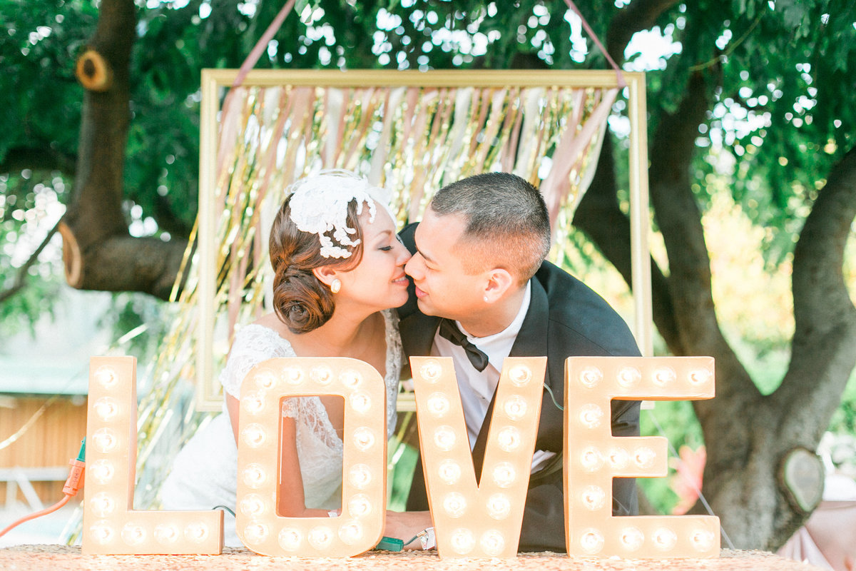 Love First Kiss Hawaii Estate Wedding