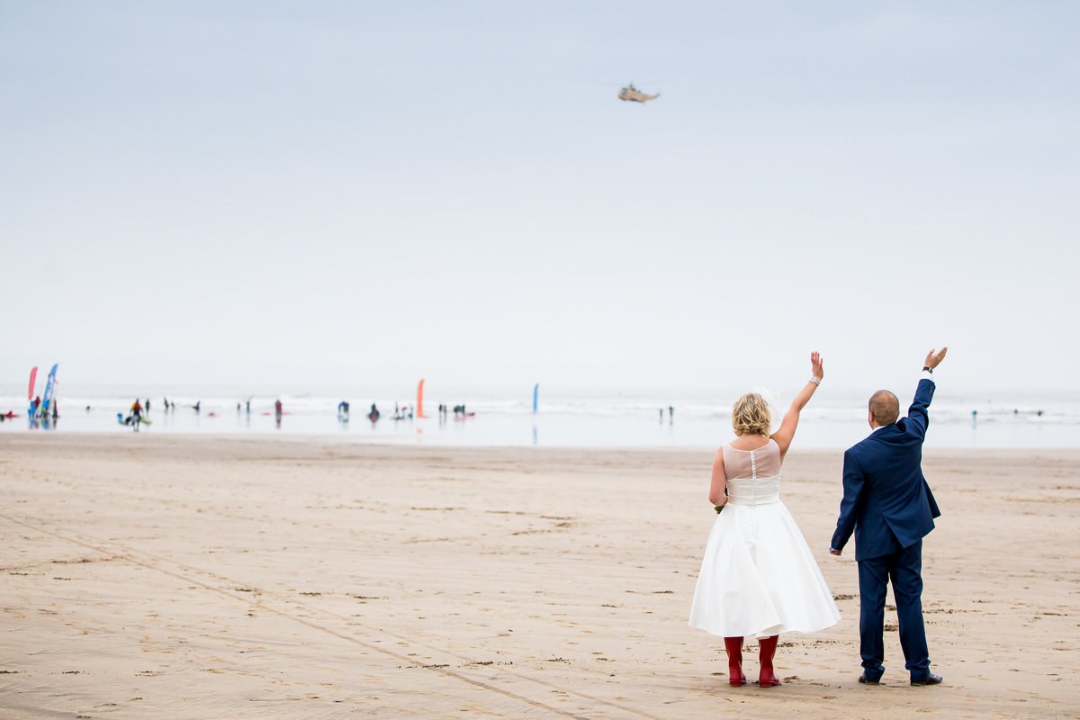 north devon wedding at saunton sands