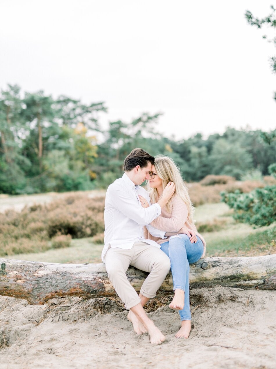 Engagement photos Soesterduinen by Fine Art Photographer Michelle Wever Photography_0020