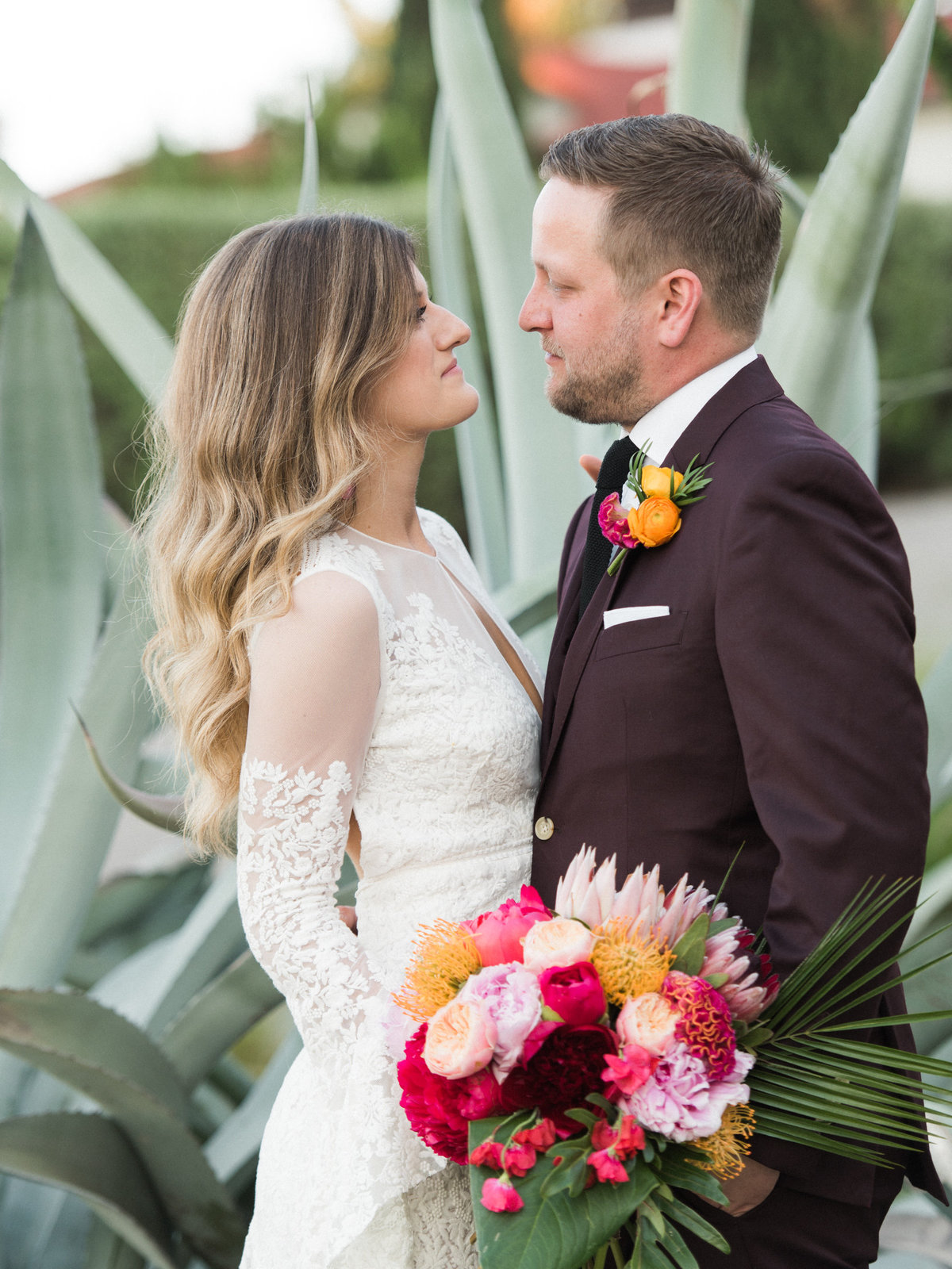 Courtney Hanson Photography - Vintage Tropical Wedding at The Belmont Hotel in Dallas-0667