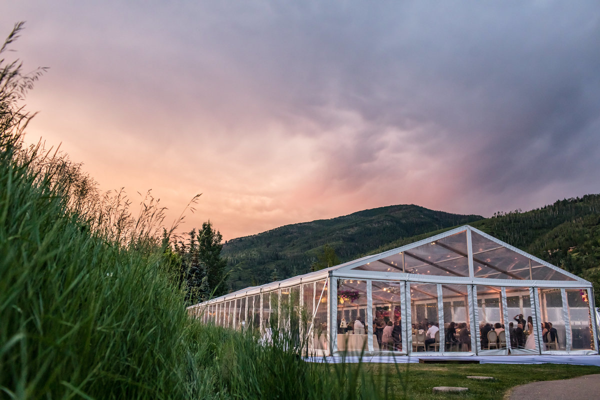 Whether your dream venue is clear top tent on a lawn or a mountain top restaurant, our unique approach means that every event is unique.