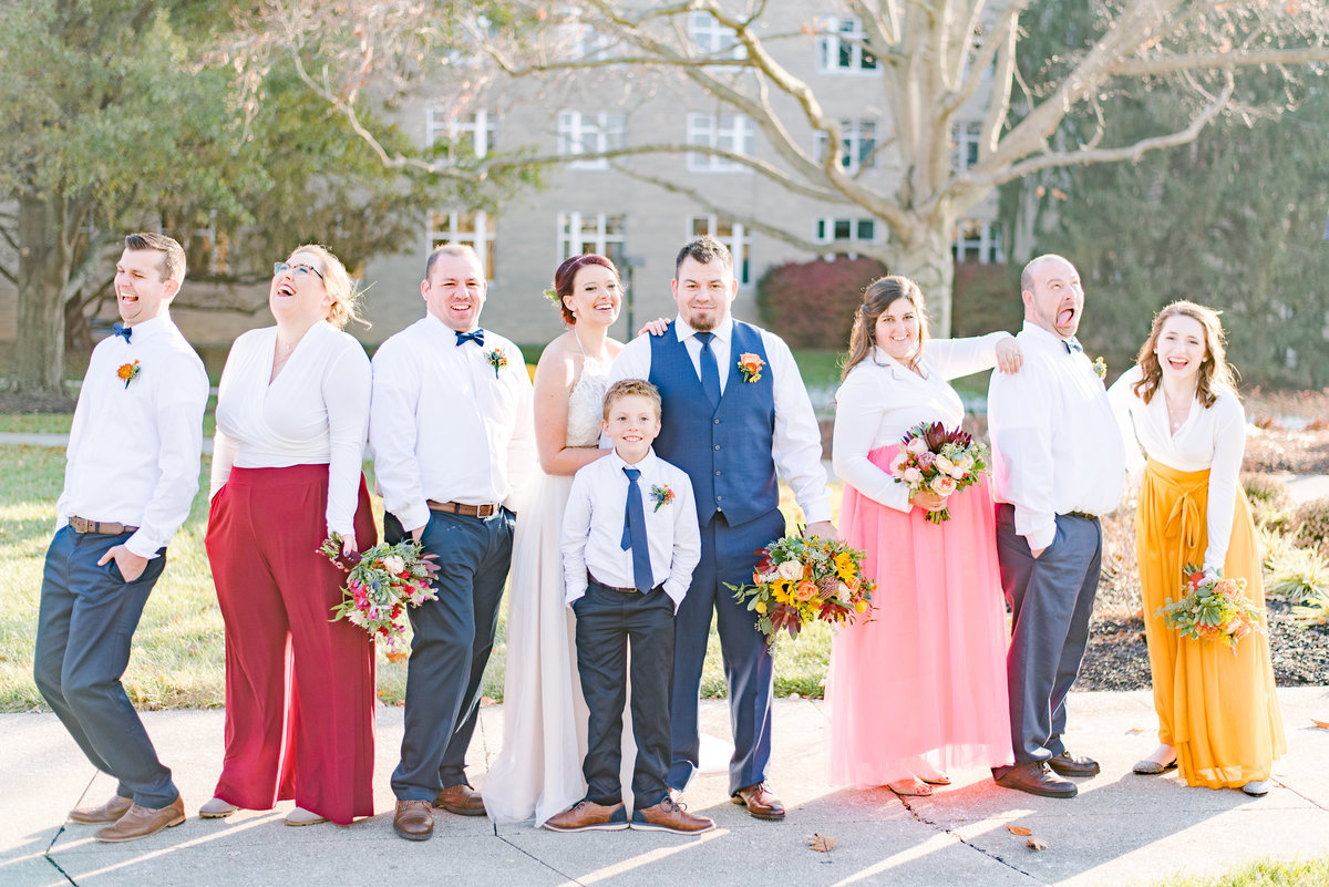 Urban Artifact Brewery Colorful Fall Wedding-165