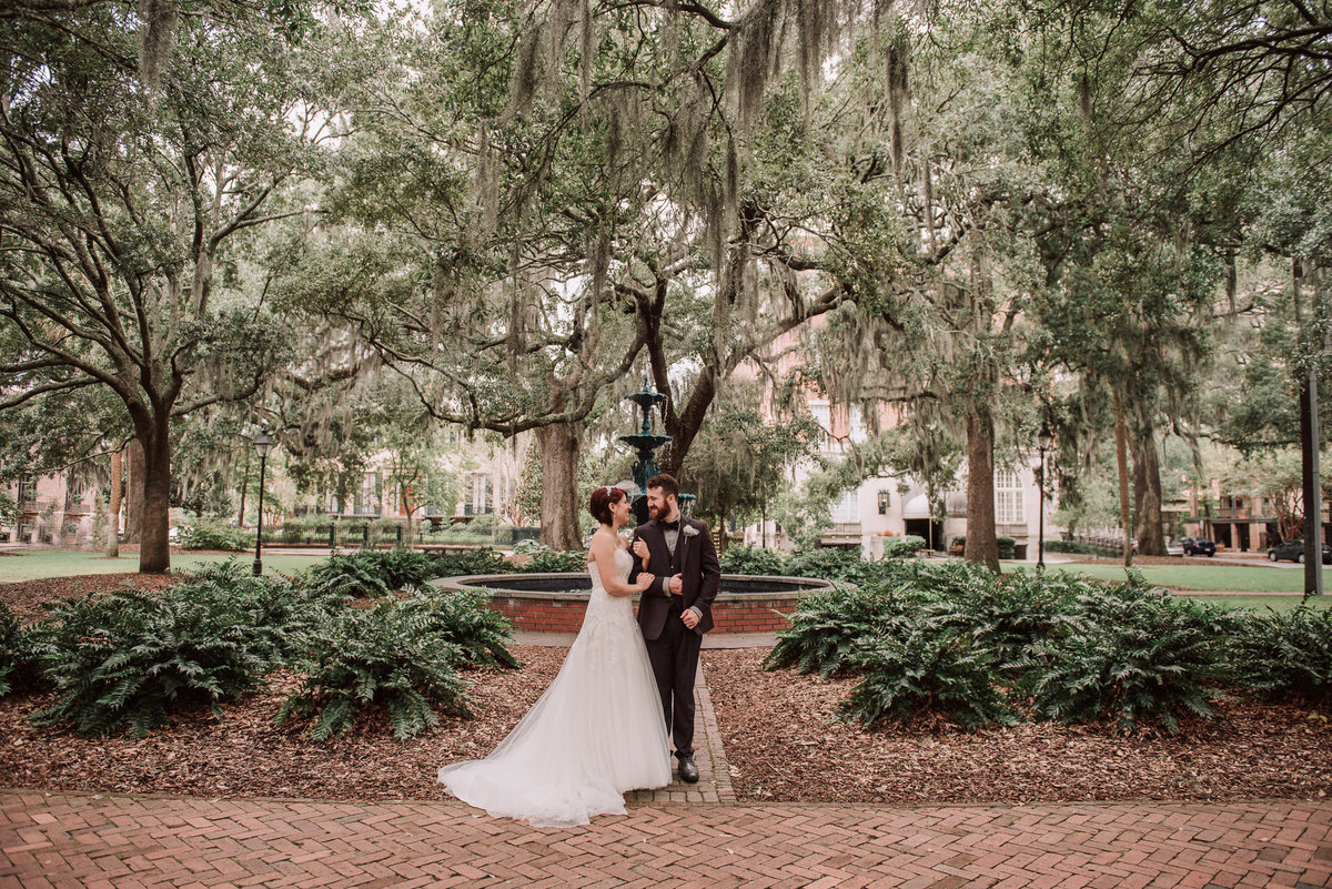troope square savannah wedding