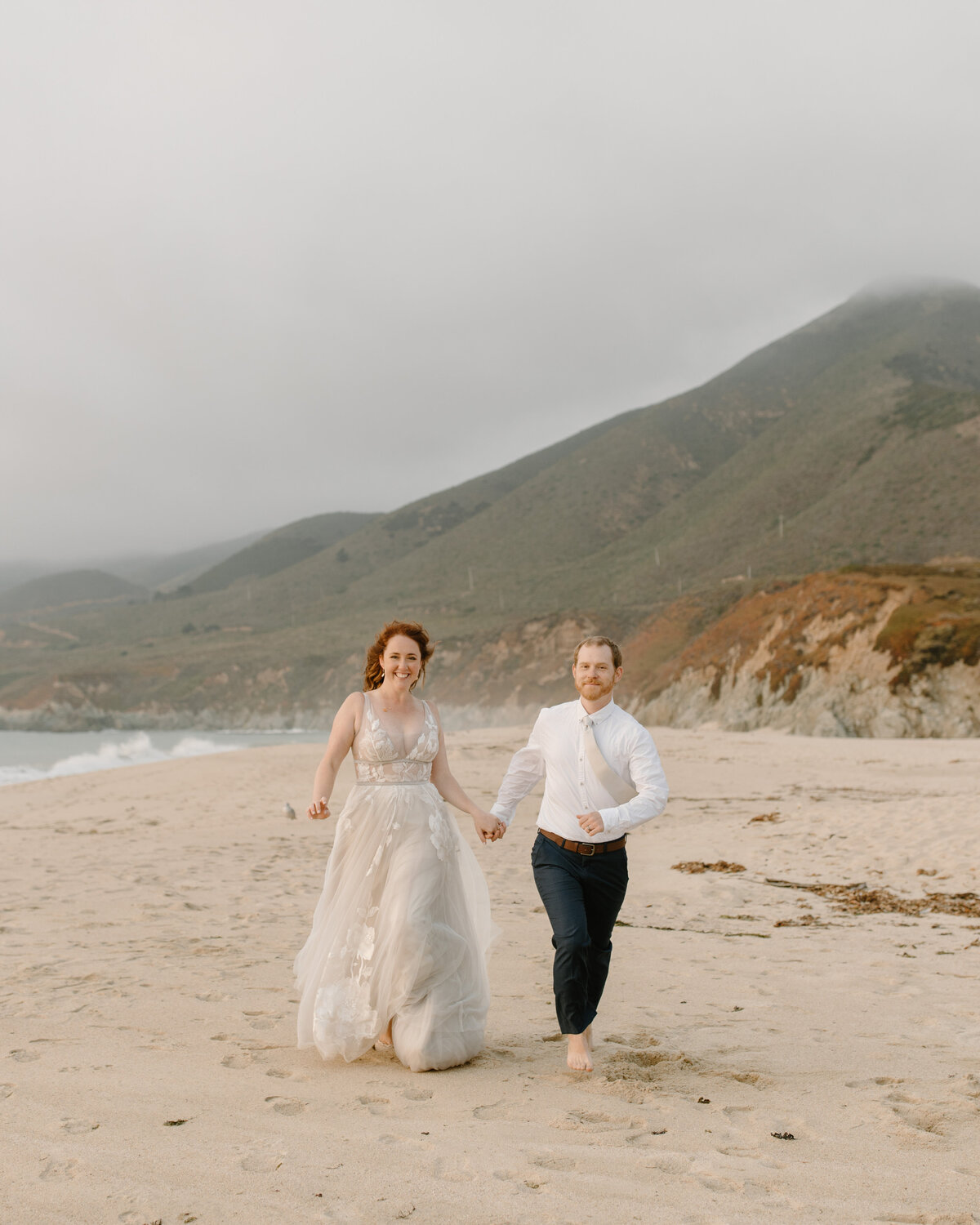 Laura & Harrison - Glen Oaks Big Sur Elopement - Tess Laureen Photography @tesslaureen - 354