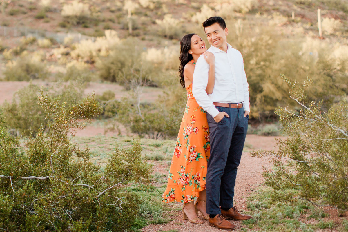 Tempe Papago Park Engagement Session-3600