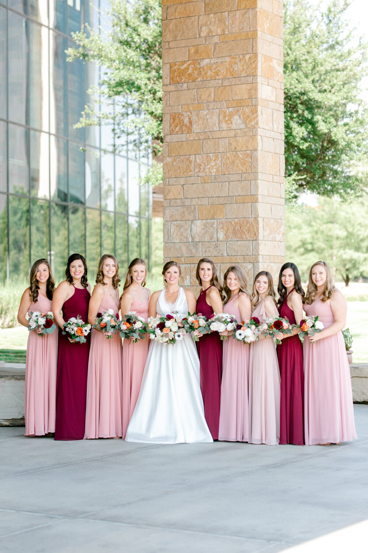 Kaylee & Michael's Wedding at Watermark Community Church | Dallas Wedding Photographer | Sami Kathryn Photography-78