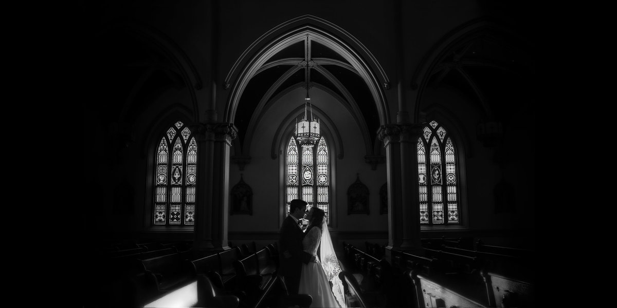 Washington DC Church Wedding at St. Joseph's Cathedral by Erin Tetterton Photography