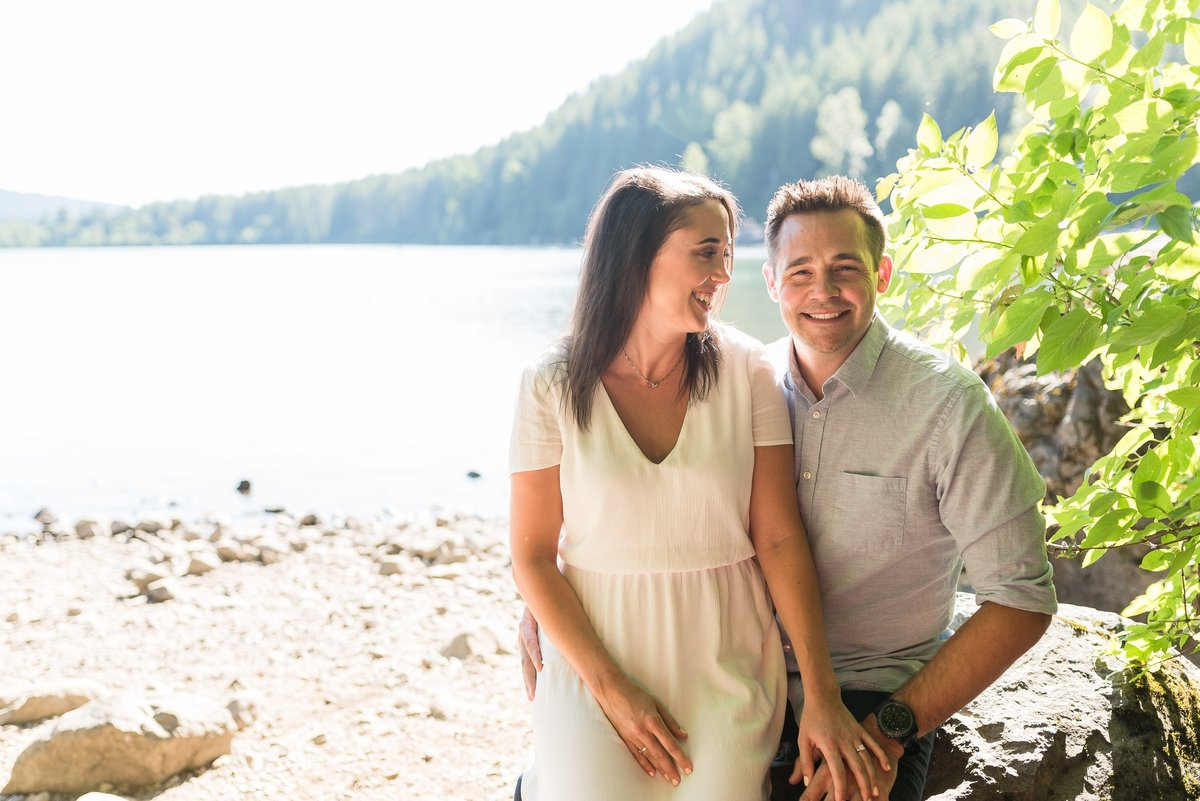 Rattlesnake Lake Engagement Session - 01
