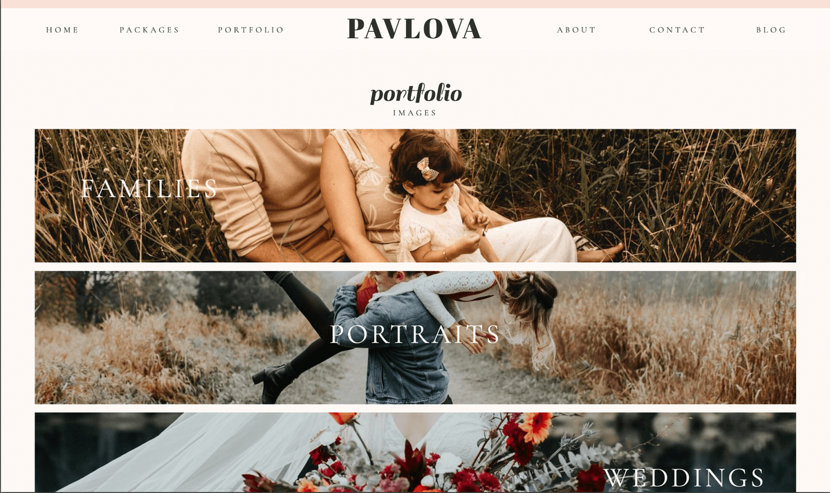 Pavlova Showit Website Template desktop_3