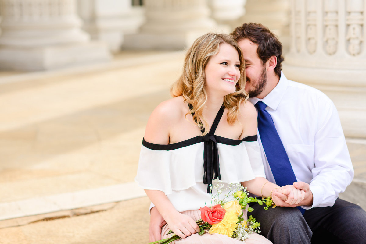 DC Sunrise Engagement Session-DAR Constitution Hall (46)