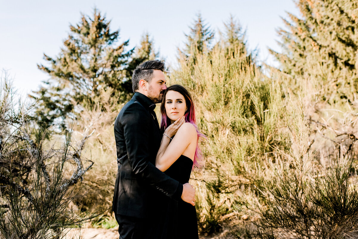 Oregon Sand Dunes | Engagement Photos | Jennifer G Photograpy-2