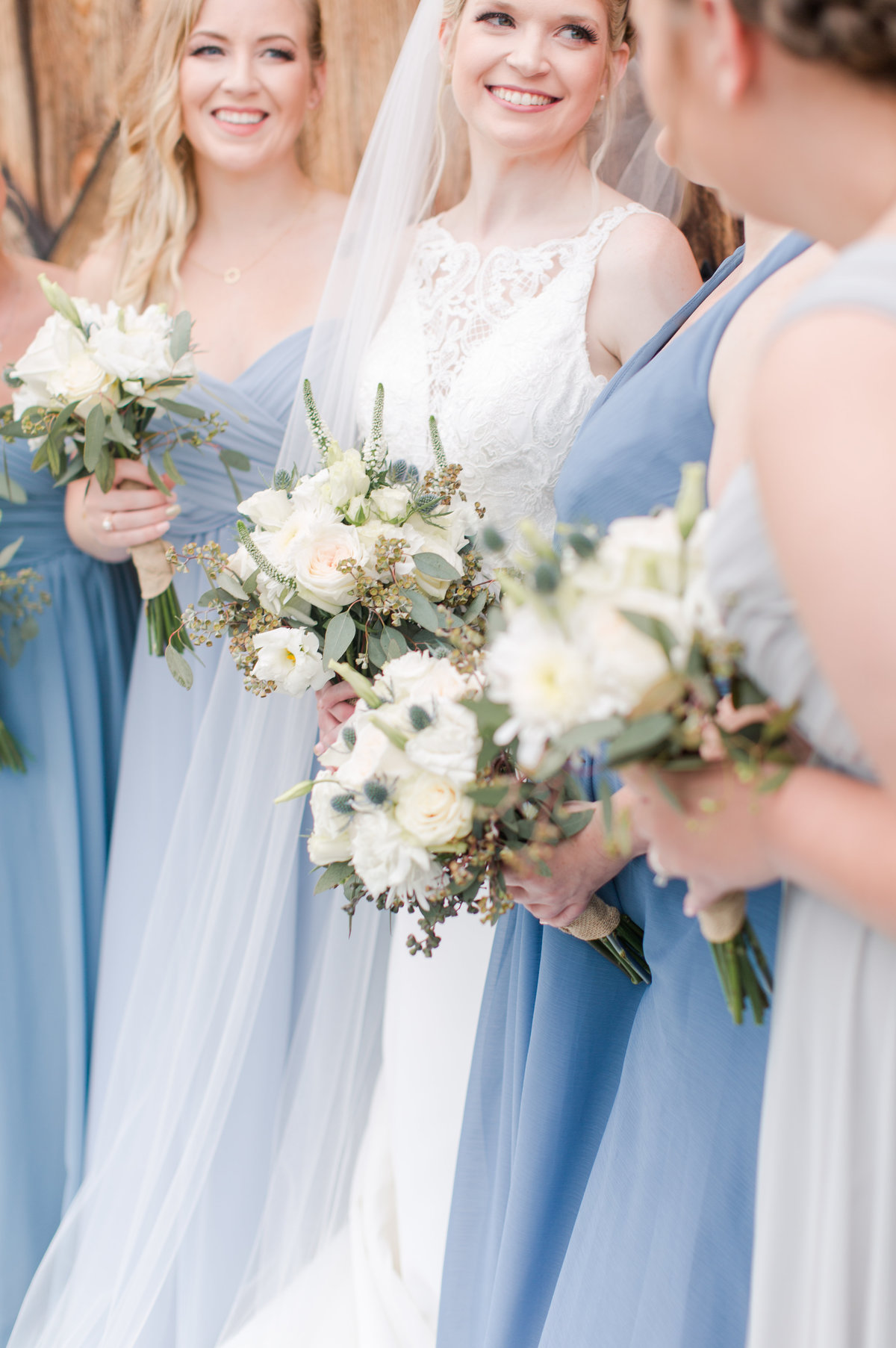 Shades of Blue Rustic Barn Virginia Wedding-204