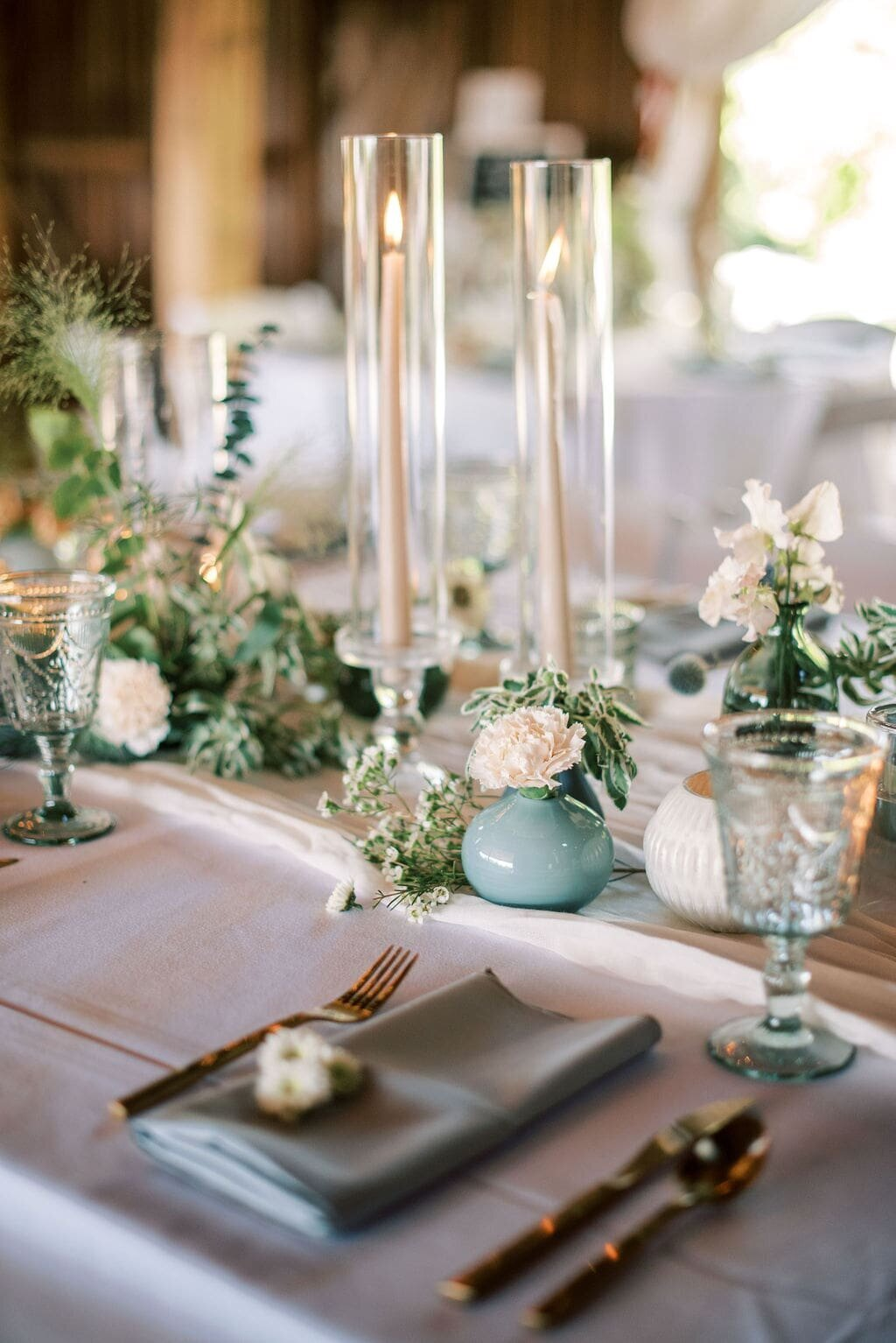 Michigan Wedding Florist Teal Wedding Ideas-min
