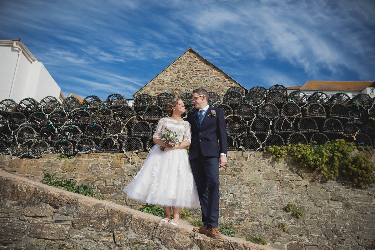 salcombe harbour hotel wedding devon october