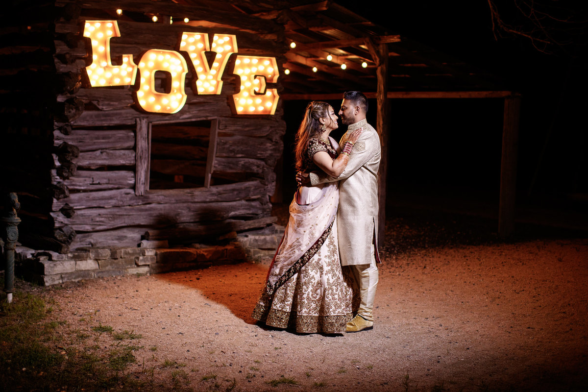 Indian wedding photographer bride groom couple night love 10601 B Derecho Drive, Austin, TX 78737