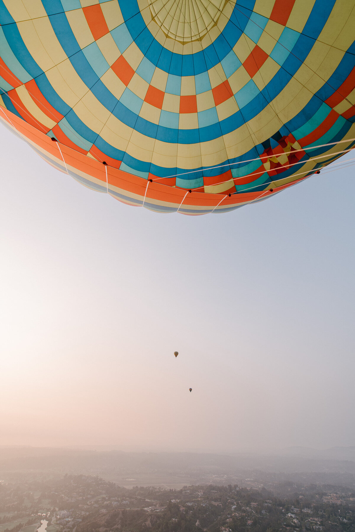 Hot Air Balloon Elopement Marie Monforte Photography-187