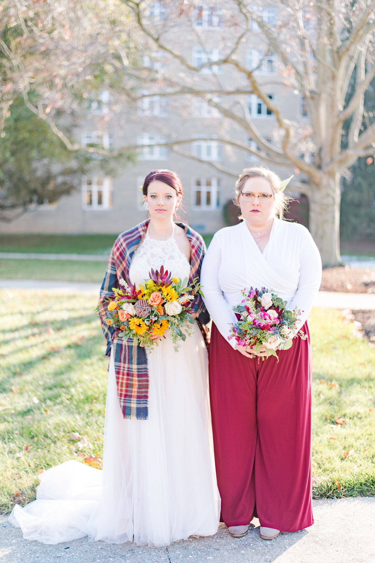 Urban Artifact Brewery Colorful Fall Wedding-128