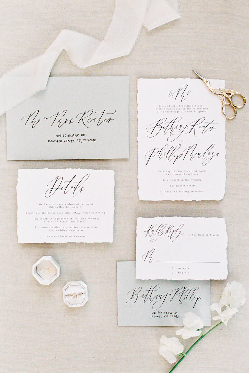 pirouettepaper.com | Wedding Stationery and Invitations | Villa Del Sol | Pirouette Paper Company | Alicia Mink Photography _