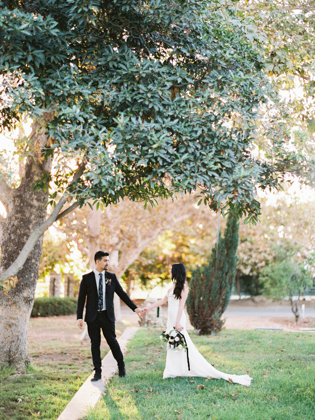 Heritage Museum of Orange County Fall Black and White Wedding Ball Photo Co California Fine Art Film Wedding Elopement Photographer-25