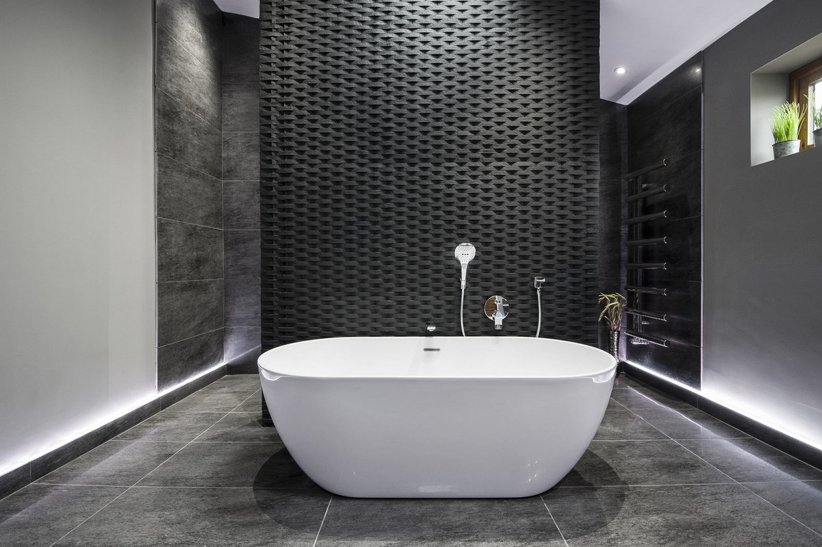 bathroom decor modern interior