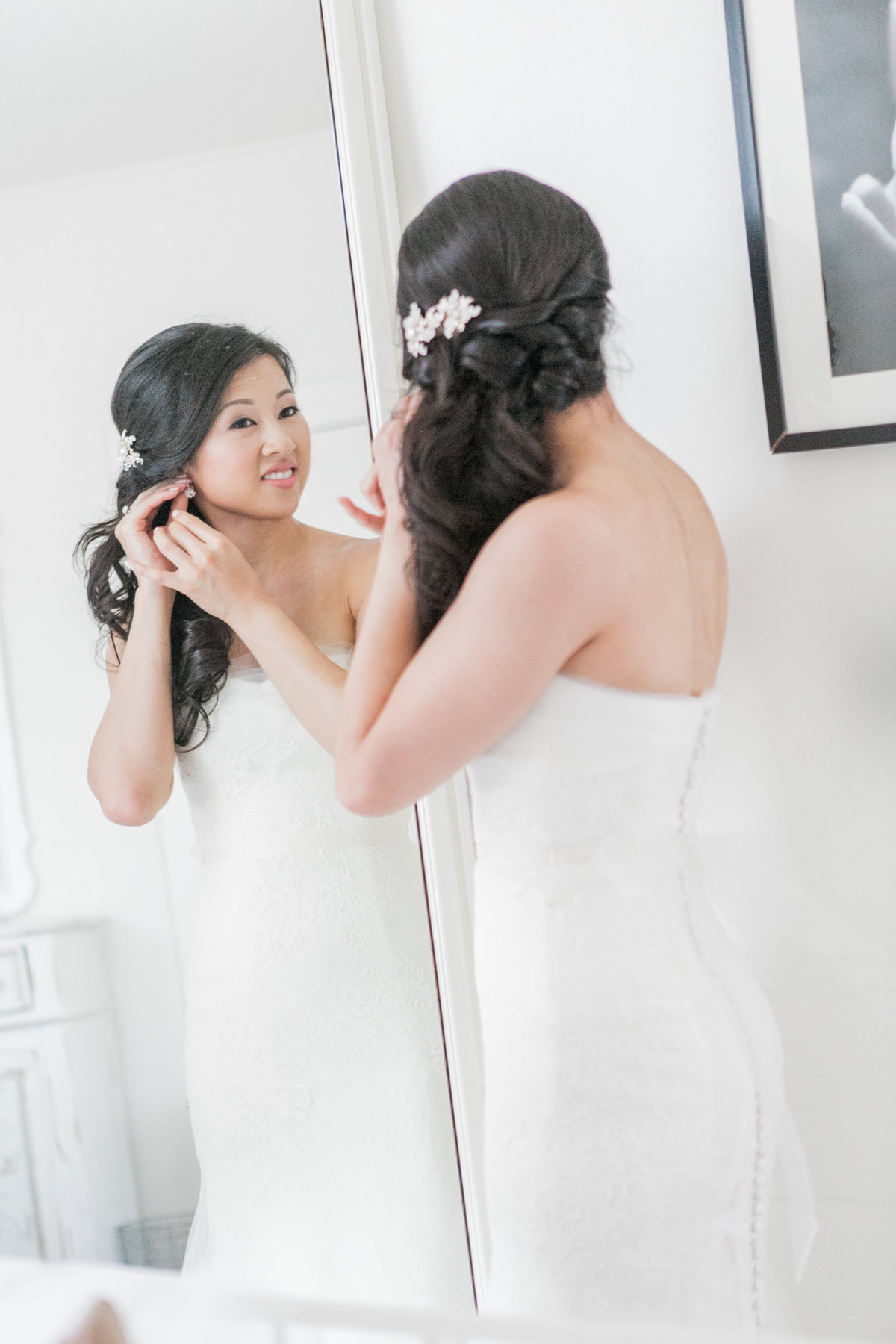 Bride Candid Moment