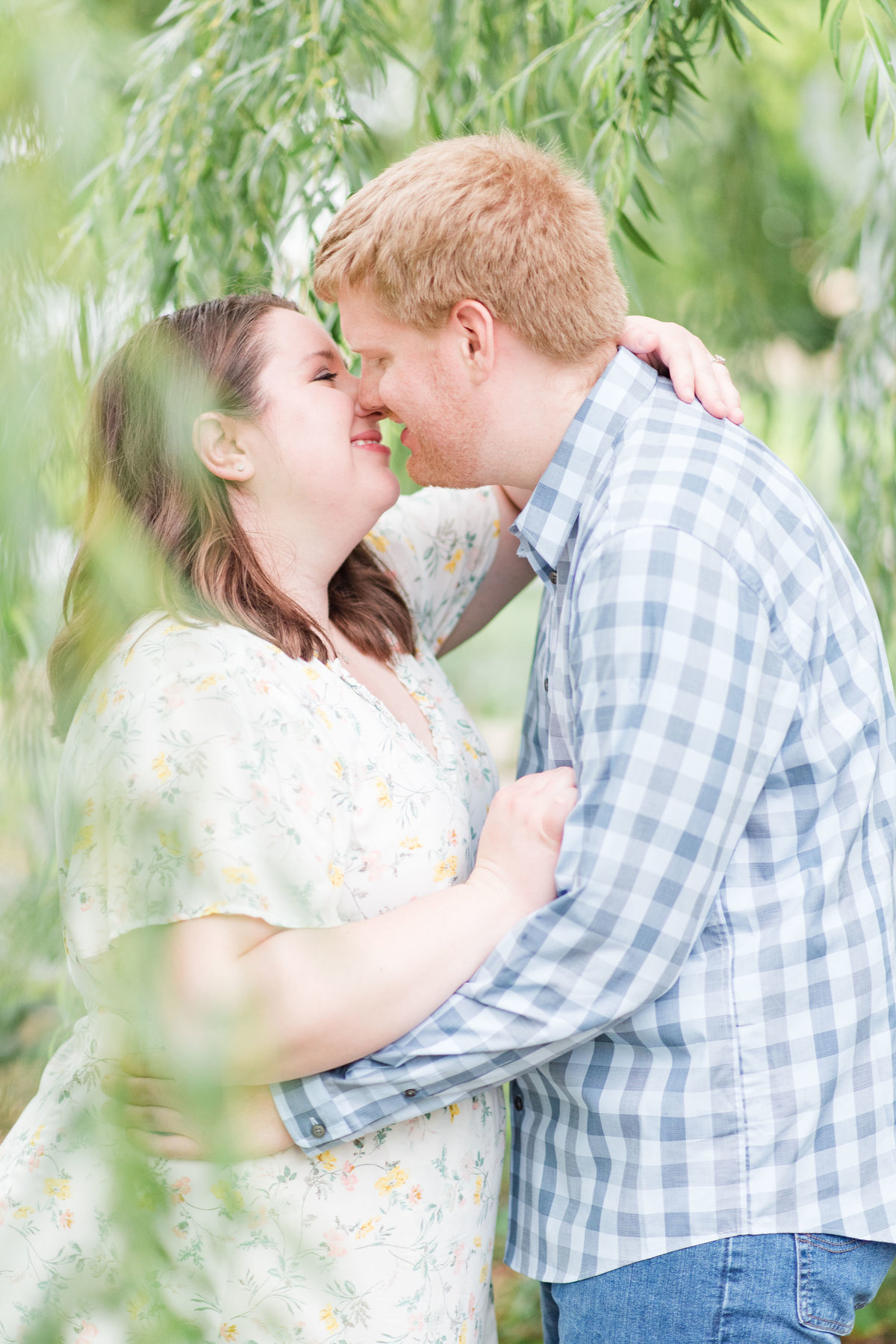 Cait Potter Creative LLC Canal Indianapolis White River State Park Spring Engagement Photos-13