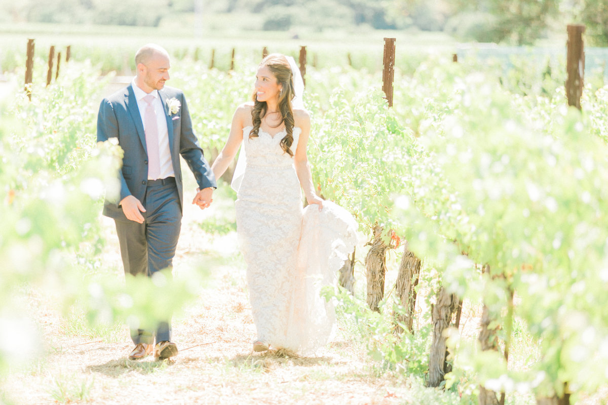 Vineyard Wedding Brix Napa