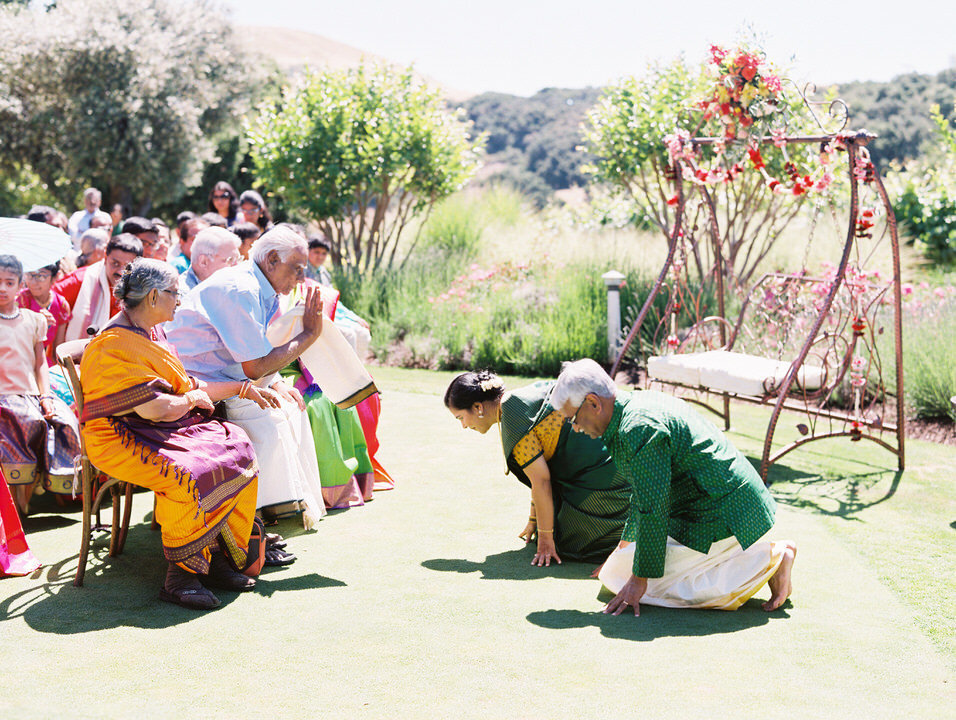 indain wedding ceremony at holman ranch
