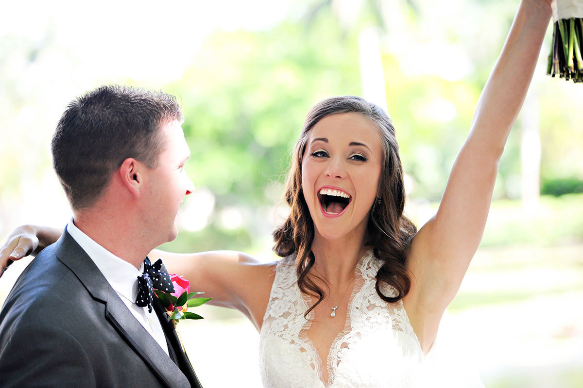 garden of hope and courage naples florida wedding