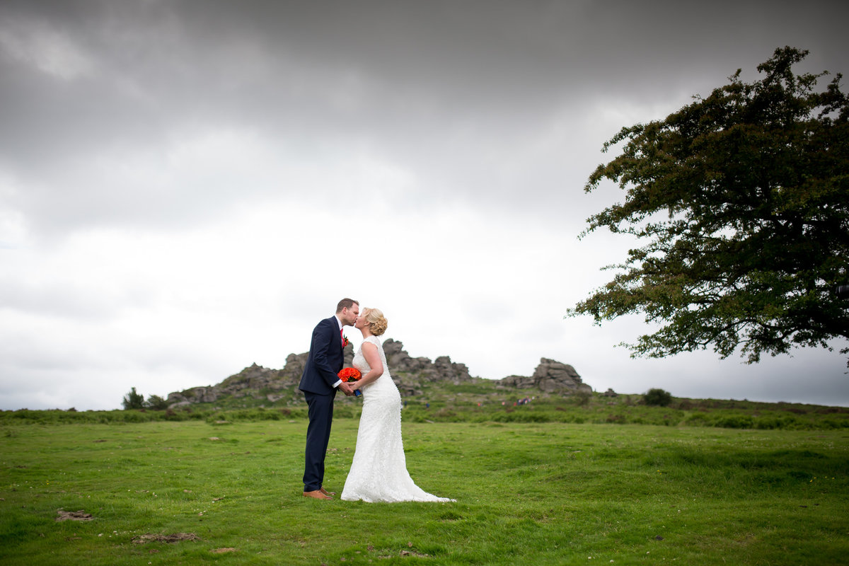 hound tor wedding dartmoor