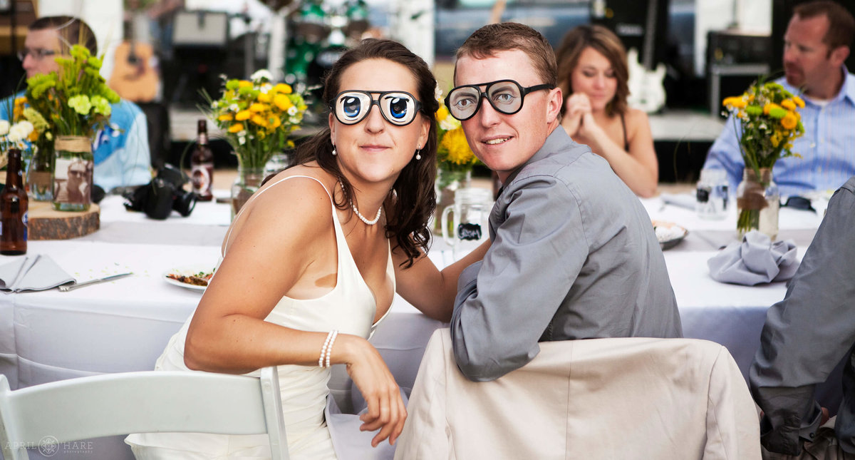 Silly Colorado Wedding Photography at Catamount Ranch Steamboat Springs
