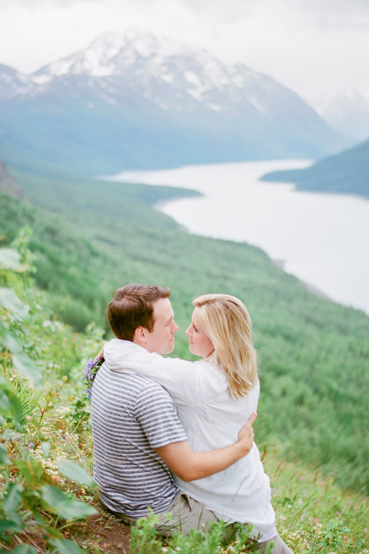 Eklutna engagement photographer