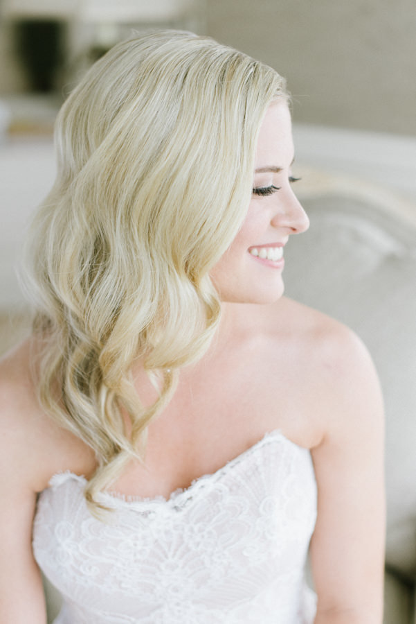 simple and timeless bridal portrait