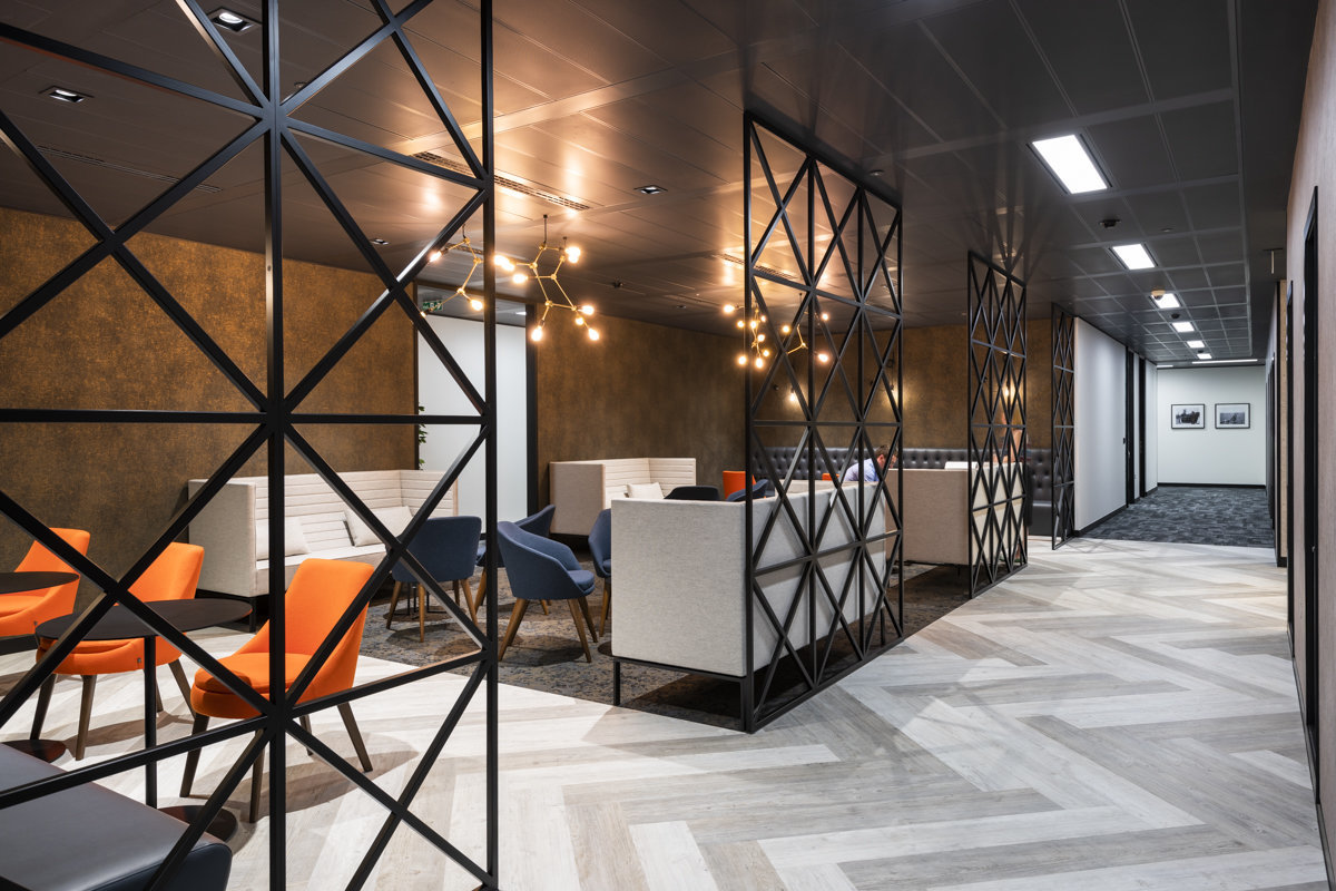modern office design commercial spaces london