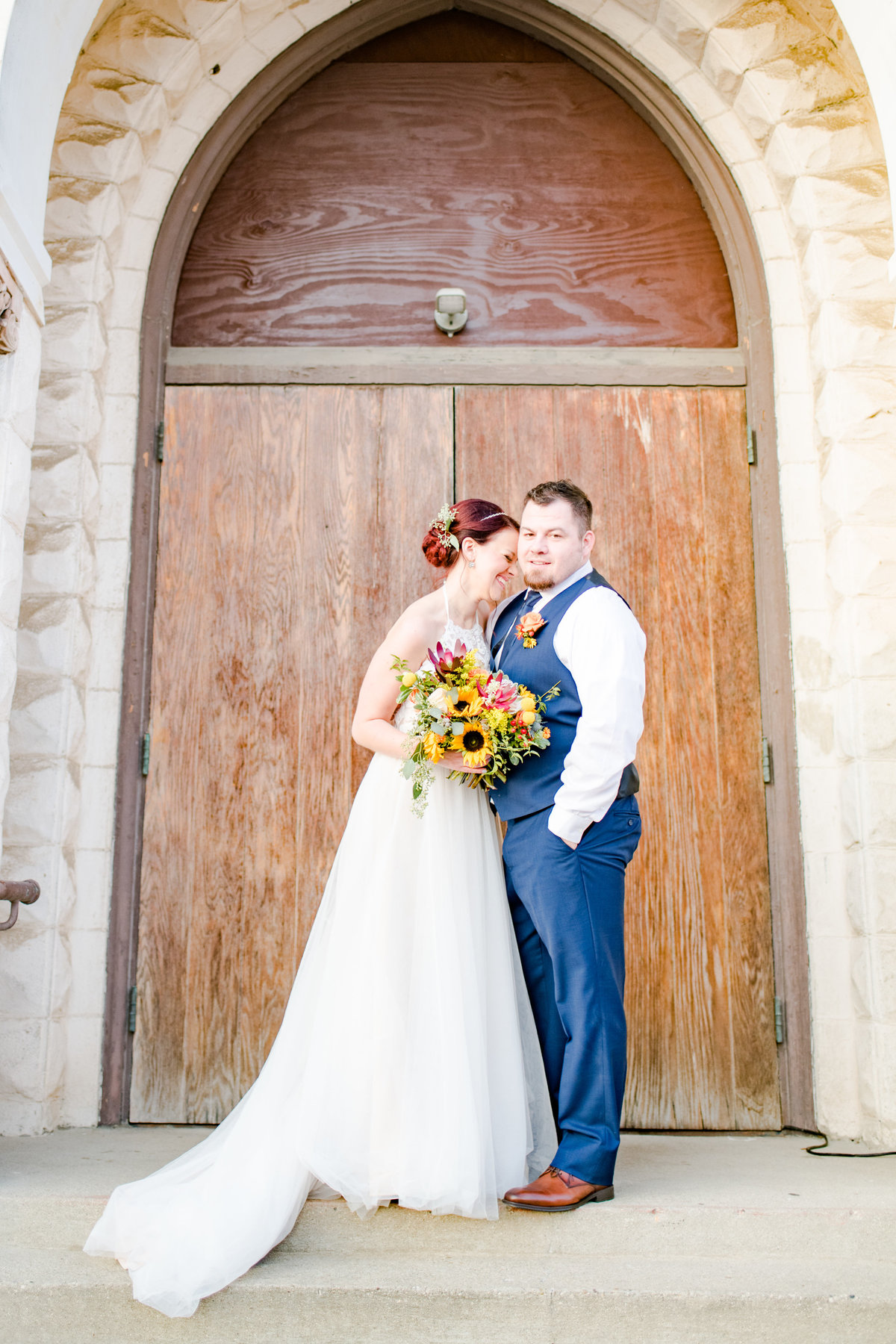 Urban Artifact Brewery Colorful Fall Wedding-178