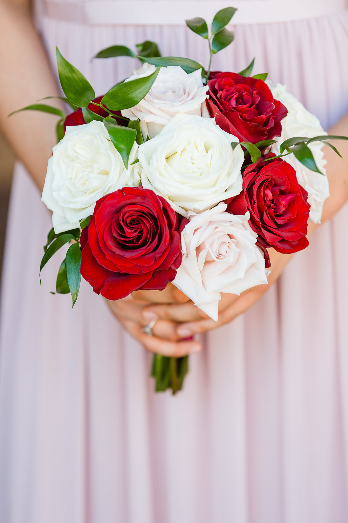 Raquel Sanchez-bridesmaid bouquet