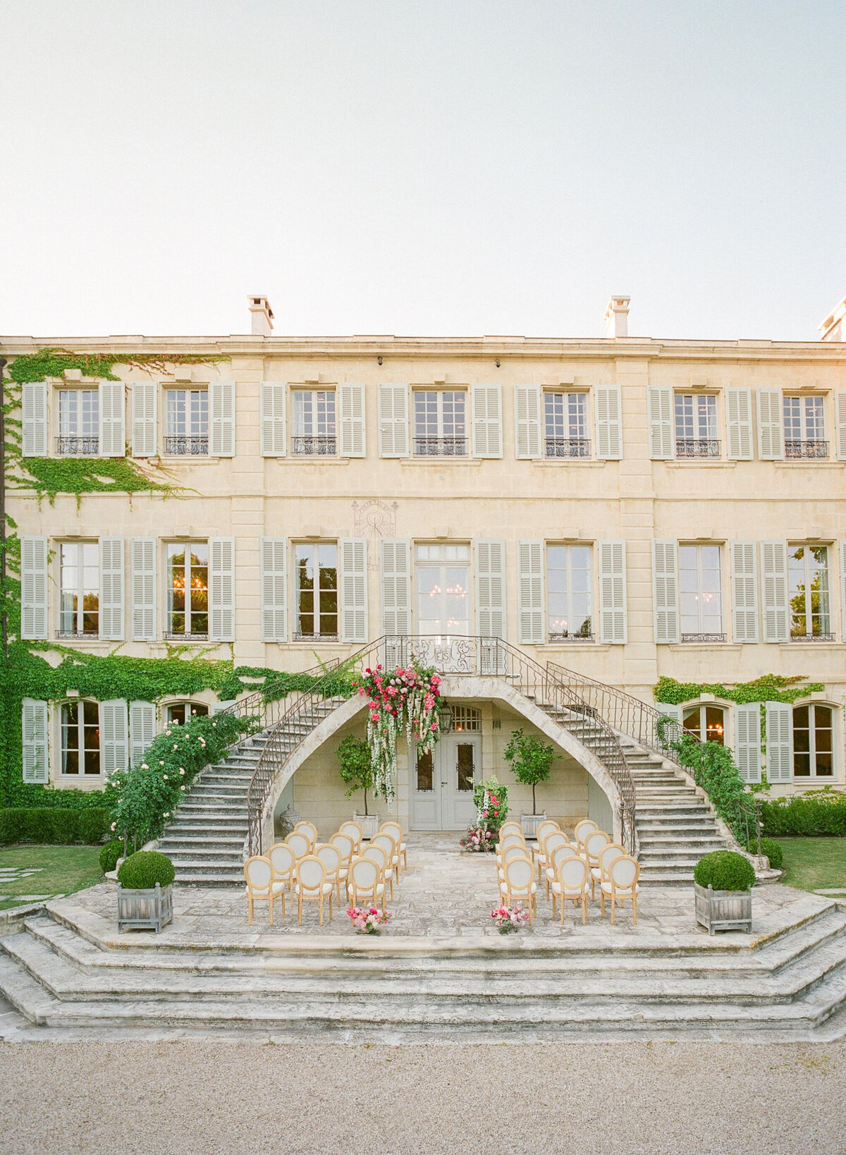 Wedding Ceremony in Provence | Jennifer Fox Weddings