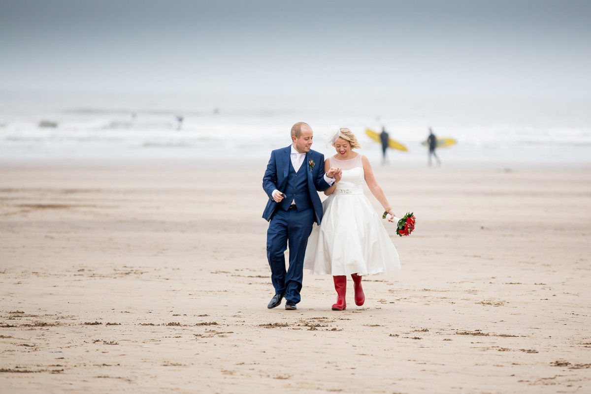 Woolacombe Bay Wedding in Devon