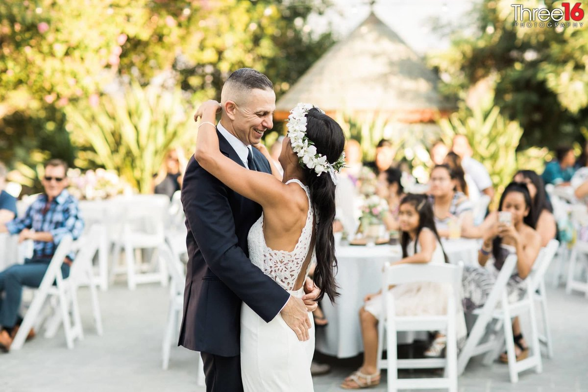Newhall Mansion Piru California Los Angeles  Photographer Wedding Venue Bride and Groom dancing