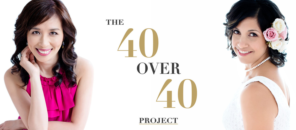 40 over 40 woman portrait photographer project Toronto - Oakville - Mississauga - Burlington- Vaughan- Richmond hill -Hamilton-George town - Brampton - BANNER B