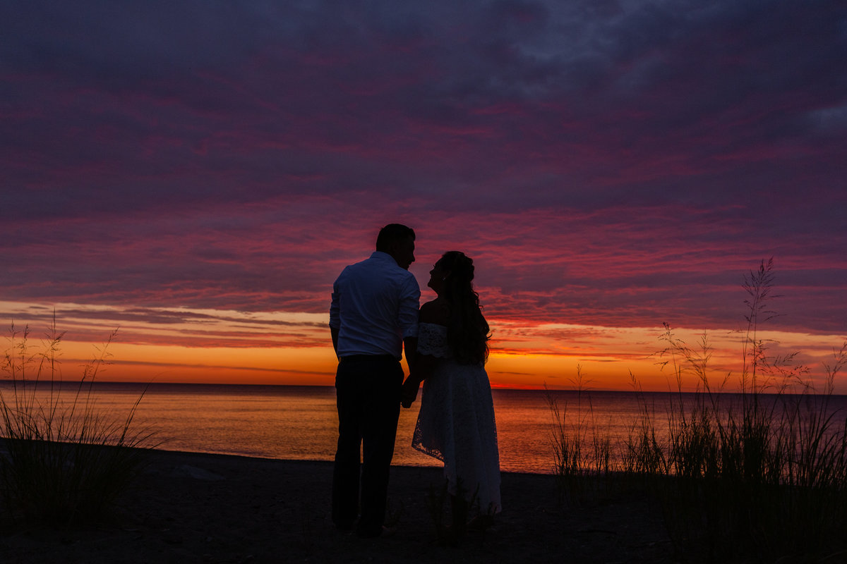 Maira Ochoa Photography, 2019 Sunrise Engagement Session in Beach Park, Waukegan, IL_-2