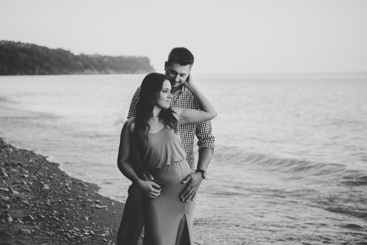 Leah Redmond Photography Wedding Couple Engagement Portrait Lifestyle Milwaukee Wisconsin Moody Natural Photographer Dark Architecture Architectural22