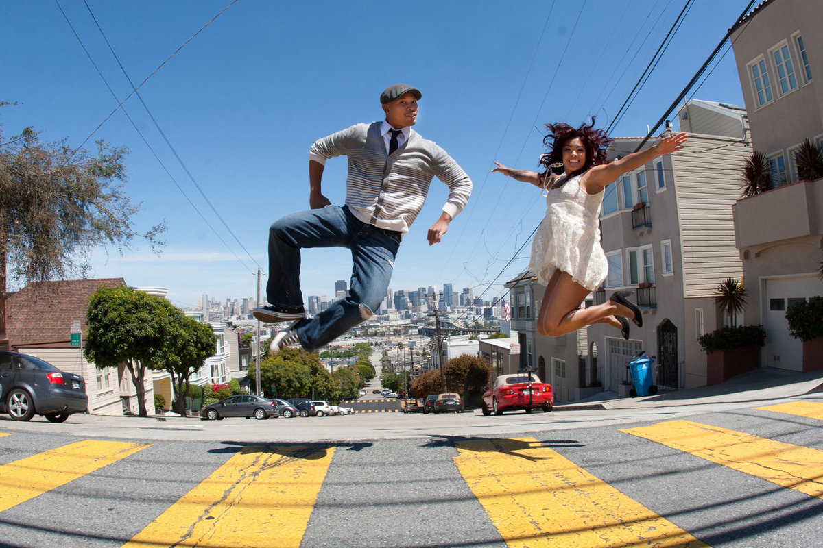 San Fran engagement session